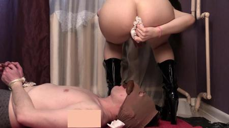 Domination Scat (Princess Miya) Princess Mia Jenny and their toilet slave [FullHD 1080p] Femdom Scat, Shitting