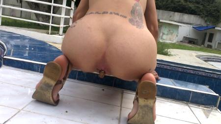 Defecation (Clara Costa) Solo Scat Columbia Total Amateur By Clara Costa 6 Scenes [FullHD 1080p] Solo Scat, Shitting
