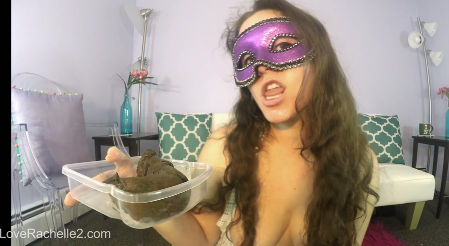 Big Farting Girls (LoveRachelle2) Lick and EAT This Perfect Poop With Me! [HD 720p] Do A Crap, Solo