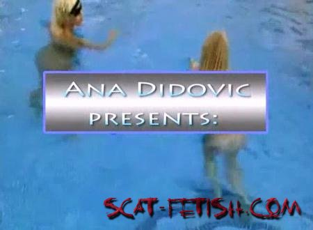 DatingRealGirls (Ana Didovic) Two Girls One Turd [SD] Solo Scat / Netherlands