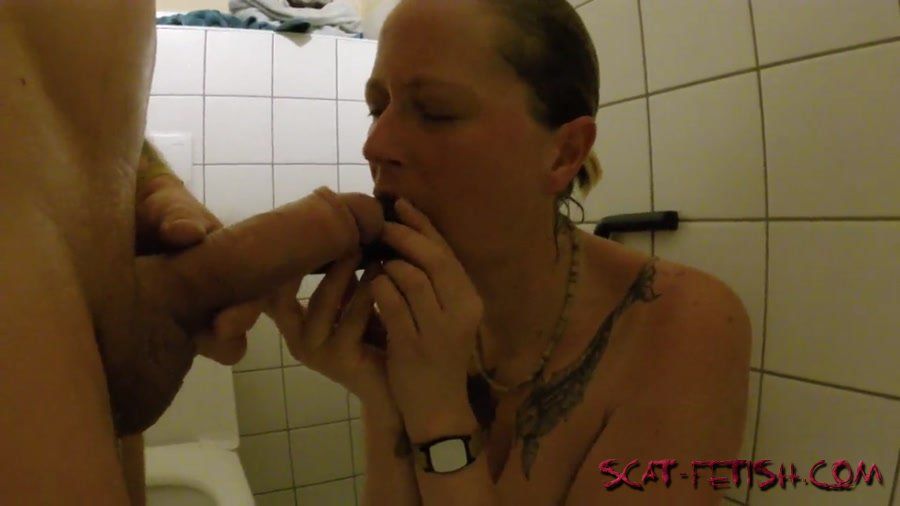 Scat Sex (ScatSusan) Shit snack on the sauna loo [FullHD 1080p] Amateurs Scat, Domination