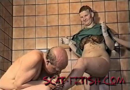 Dirtytimo (ScatGirls) Group scat fuck in a mental hospital [SD] Milf, Femdom