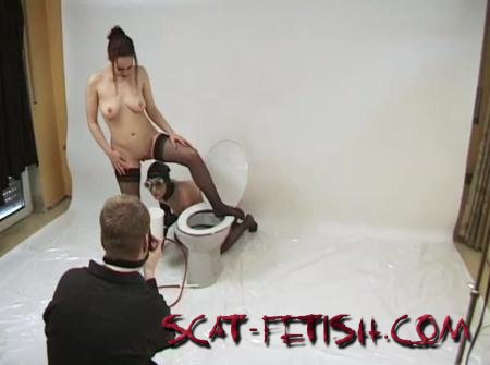 Chris-Extreme (Tima) Behind The Scene Enema Stasy [SD] Human Toilet, Solo