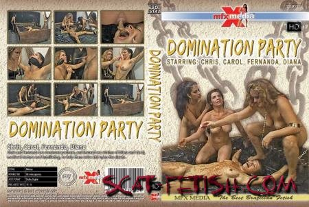MFX Media (Chris, Carol, Fernanda, Diana) SD-5142 Domination Party [HDRip] Domination, Brazil