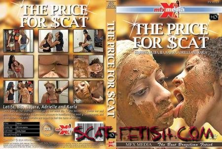 MFX Media (Latifa, Bia, Najara, Adrielle, Karla) SD-6073 The Price for Scat [HDRip] Vomit, Domination