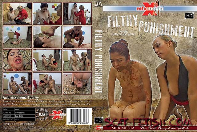 Brazil Scat (Andressa, Tatthy) [SD-6261] Filthy Punishment [HDRip] Domination, Brazil