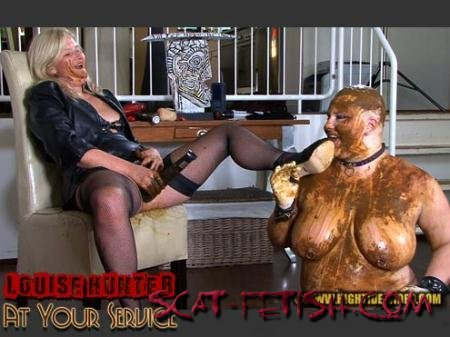 Hightide-Video.com (Louise Hunter, Marlen) LOUISE HUNTER - AT YOUR SERVICE [HD 720p] Lesbian, Femdom
