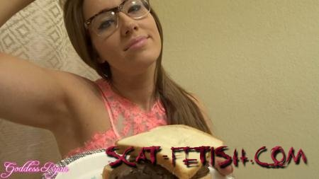 ScatShop.com (Goddess Ryan) Eat My Spit and Shit Sandwich [FullHD 1080p] Poop, Amateur