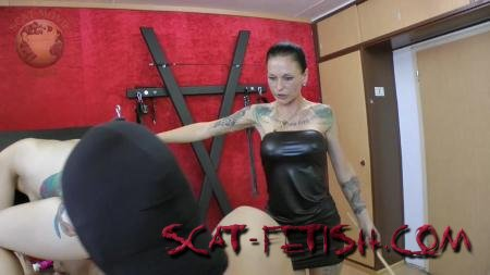 Humiliation Scat (Leatherdyke) Femdom Scatting [HD 720p] Latex, Domination