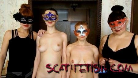 [ScatShop.com] Two slaves Caroline and Alice with ModelNatalya94 (Caroline, Alice, Natalya) Two scat slaves [FullHD 1080p]