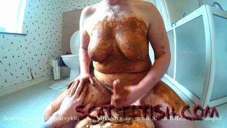 Extreme Scat (Curvykitten92) SHIT in your mouth, SMOKING, shitty handjob [FullHD 1080p] Blowjob, Boobs