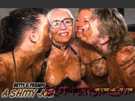Hightide-Video (Betty, Molly, Monalisa, Sexy) BETTY & FRIENDS - A SHITTY JOB [HD 720p]
