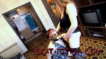 Femdom Scat (ModelNatalya94) Strap-on for dogs Olga [FullHD 1080p] Domination, Amateur