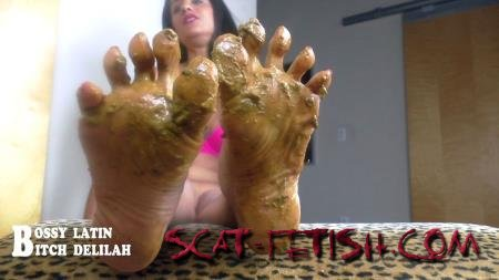 "clips4sale.com (Bossy Latin, Bitch Delilah) Scat Queen Delilah – Pretty ""SHITTY"" thing [HD 720p] Mature, Foot"