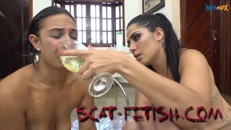 New Scat In Brazil (Mary Luthay, Saori Kido) Special Dinner with Vomit and Scat [FullHD 1080p] Amateur, Lesbians, Brazil