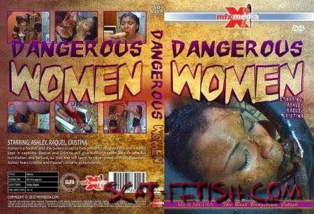 MFX Media (Ashley, Raquel, Cristina) SD-3229 Dangerous Women [HD 720p] Lesbian, Vomit, Domination
