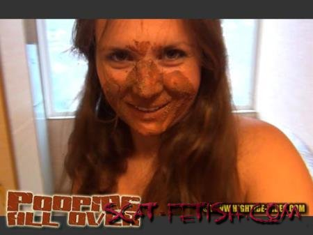 Hightide Scat (Wildpassion, Flaming Woman) POOPING ALL OVER [SD] Outdoor Scat, Pee, Farting
