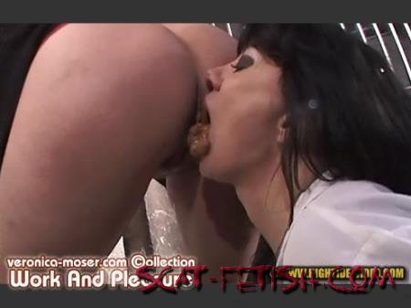 Hightide Scat (Veronica Moser, Mistress Angie) VM37 - WORK AND PLEASURE [SD] Lesbians, Milf