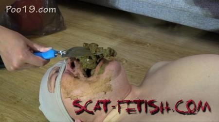 Domination Scat (MilanaSmelly) Today it was very difficult for him [HD 720p] Femdom, Toilet Slavery
