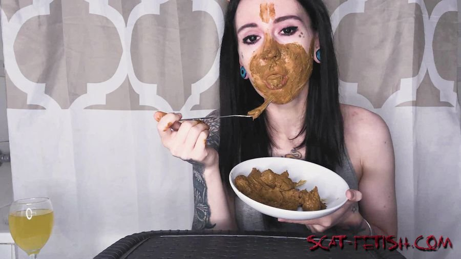 Solo Scat (DirtyBetty) Real Scat Breakfast [FullHD 1080p] Eating, Teen