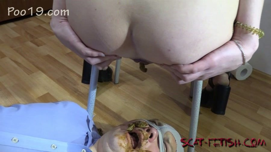 Toilet Slavery (MilanaSmelly) Mr small dick! Female shit eater [HD 720p] Femdom, Shitting