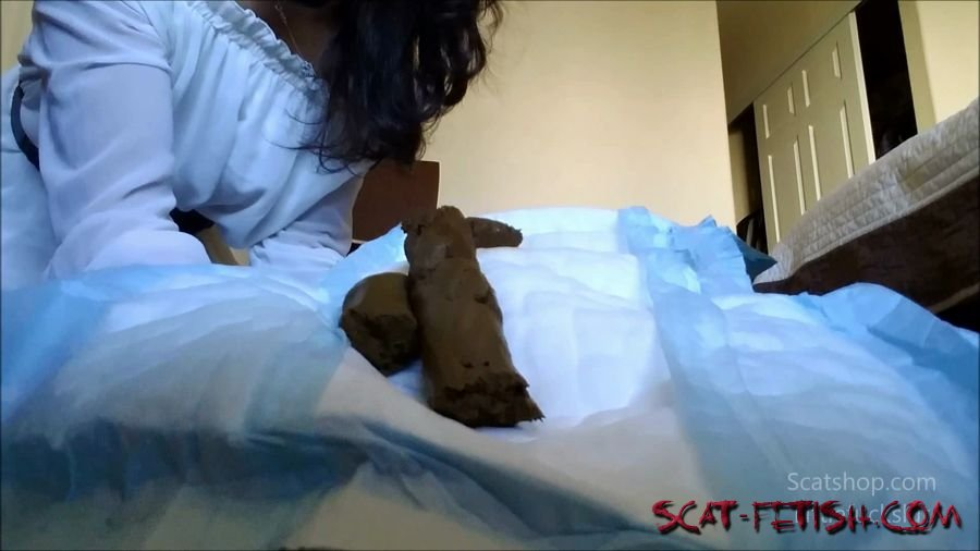Poop (littlefuckslut) Big Poop for My Baby Toilet to Wear [FullHD 1080p] Solo, Big Pile