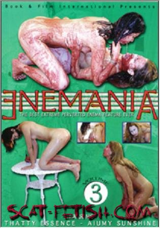 Book & Film International (Thatty Essence, Aiumy Sunshine) Enemania Volume 3 - Enema With 2 Young Lesbians [SD] Vomit, Lesbian, Brazil