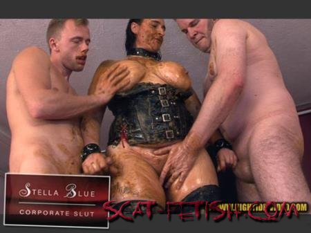 Hightide-Video.com (Stella, 3 males) STELLA BLUE, CORPORATE SLUT [HD 720p] Domination, Group, Sex