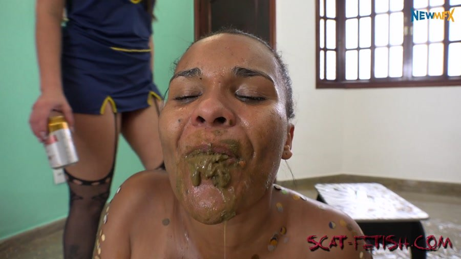 Lezdom (Brazil) Carnival party: unwelcome guest [FullHD 1080p] Humiliation, Lesbians