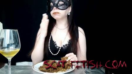 Eating Shit (ScatLina) I Eat And Swallow 3 Big Loads Of My Shit By Top Babe Lina [FullHD 1080p] Extreme, Solo