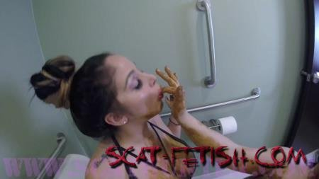 SCATHUNTER (Bossy Bitch) Scat Eating Domina-tricks [HD 720p] Lesbians, Boobs