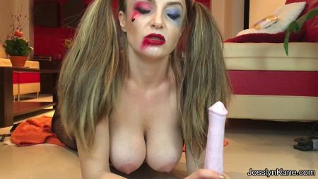Extreme Defecation (JosslynKane) Harley Quinn is fucking her horse dildo and pooping [FullHD 1080p] Scat, Pee, Solo
