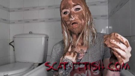 Eat Shit (Top Model Betty) Extreme Luxus Scat Play Exclusive SG Video Production [FullHD 1080p] Teen, Solo